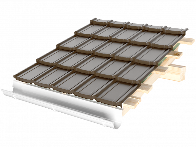 Țiglă metalică Nordica® Clasică-În curând