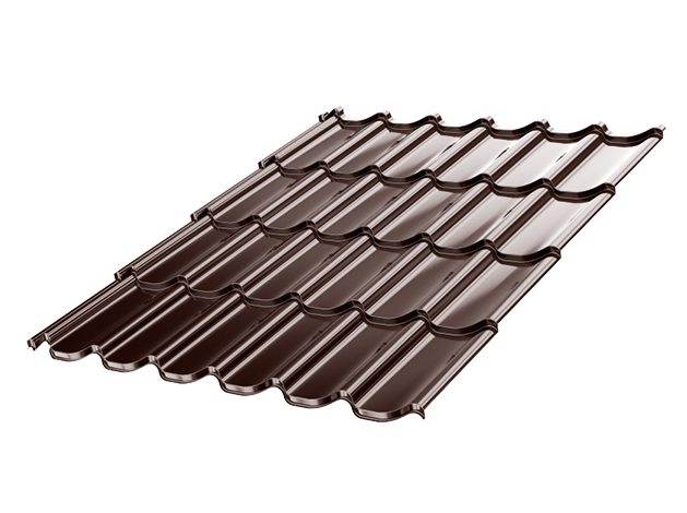 Classic Umbrella Metal Tile