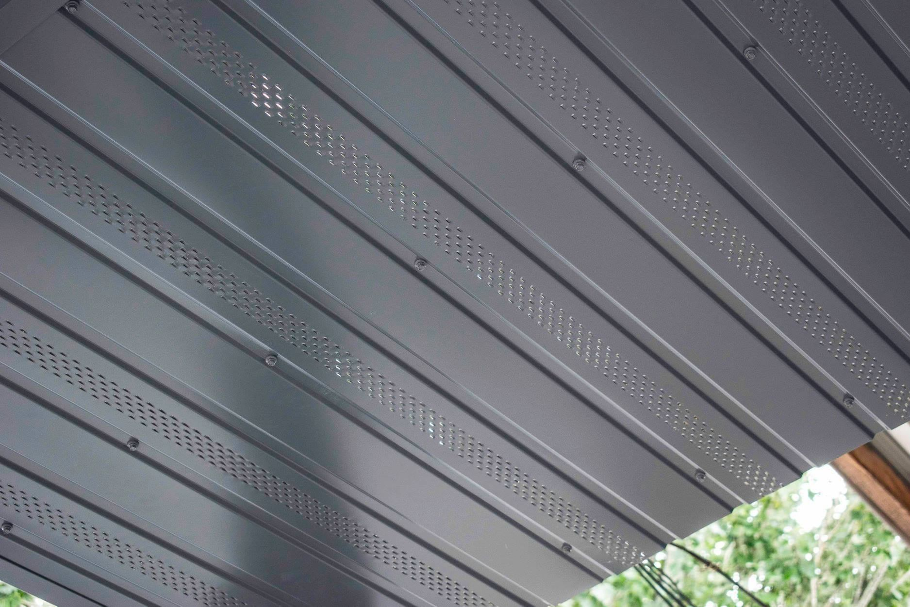 Perforations for better ventilation